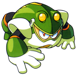 Artwork of Toad Man by Capcom